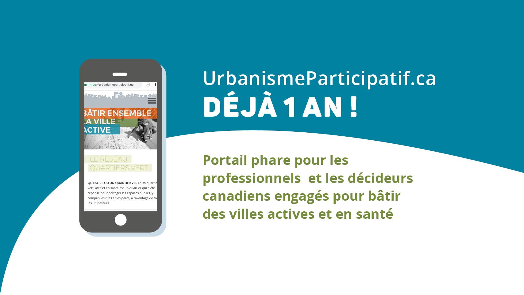 1 an urbanisme participatif